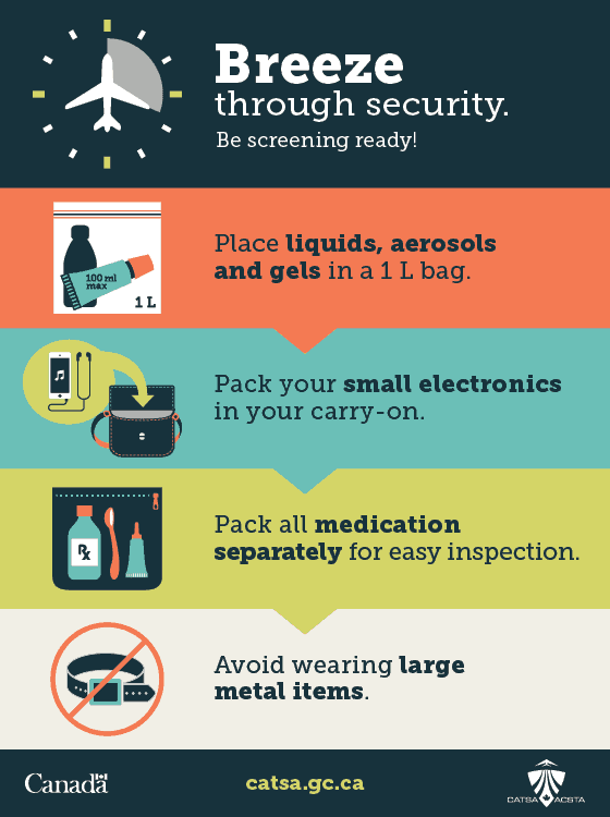 Are you ready for summer travel? Breeze through security this summer travel season with these helpful tips.
