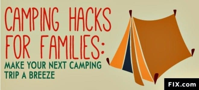 Camping with the kids is great fun. These super camping hacks for families will help make your outdoor camping experience a breeze! (thetravellingmom.ca)
