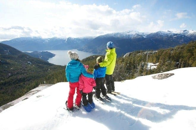 If you're looking for some great winter family fun, the Sea to Sky Gondola in Squamish has activities galore, and is just 30 minutes from Vancouver.
