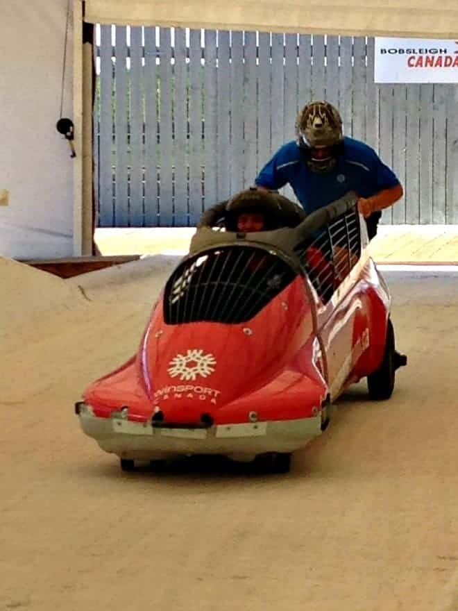 I'm not a thrill-seeker, but bobsledding with Olympians in Calgary at Winsport Canada Olympic Park changed all that. Why you should consider the rush of the bobsleigh.