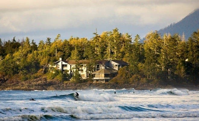 On the wild west coast of Vancouver Island, Tofino is a family-friendly, beach-combing paradise destination for winter or summer travel. (via thetravellingmom.ca)
