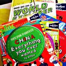 Raise a reader and inspire a spirit of wanderlust in your children with the Lonely Planet Not for Parents travel book series. (via thetravellingmom.ca)