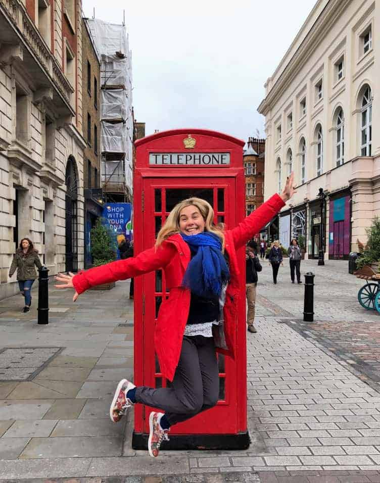 3 days in london itinerary phone booth