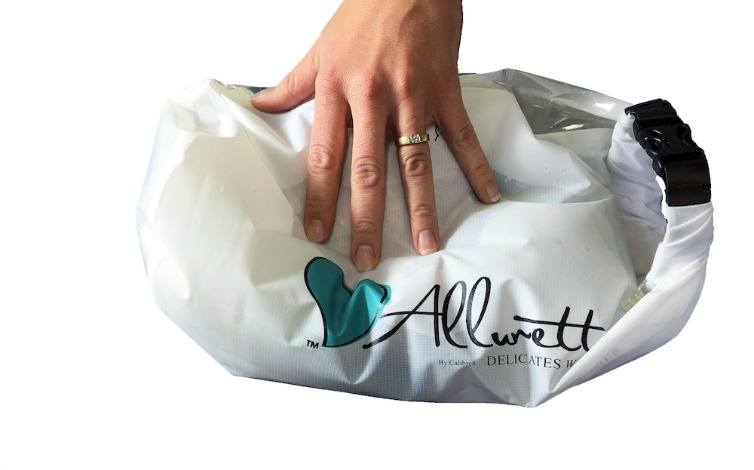 Let's be real, it's a challenge to keep clean on the road. The Allurette washer bag elevates your hand wash laundry game and keep delicates and traveling clothes clean and bright.