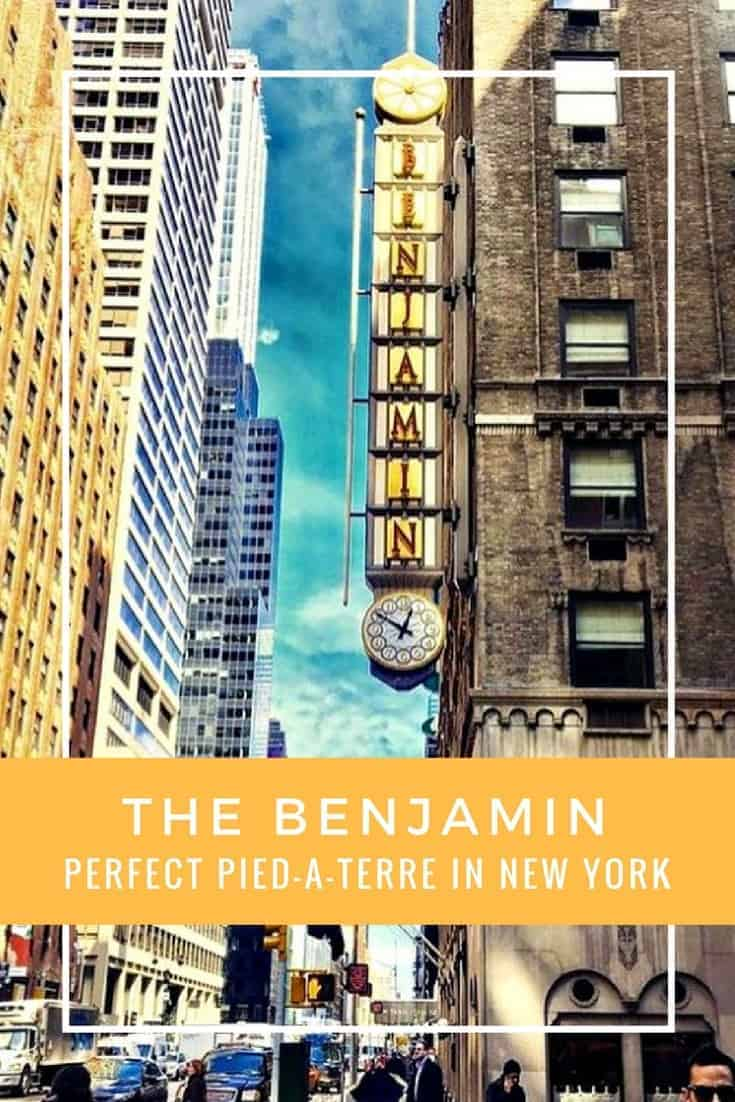 The historic Benjamin Hotel in Midtown Manhattan is the perfect pied-à-terre for a luxury family getaway in New York City.