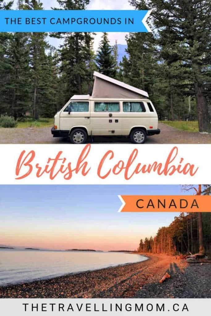 best campgrounds in bc