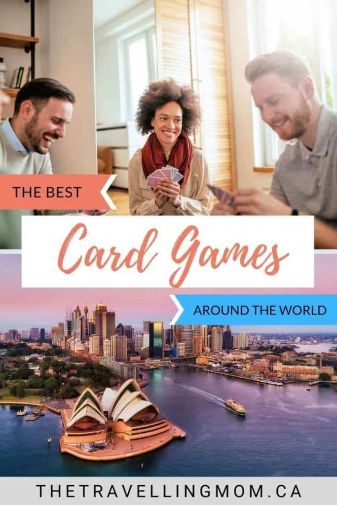 people sitting playing card games from around the world