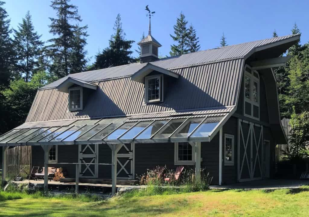barn in sunshine on bowen island airbnb in vancouver