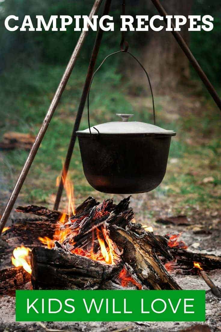 Good food is a big part of any successful camping trip. Be queen or king of the cookout with these tasty camping recipes to try in the great outdoors with the kids.