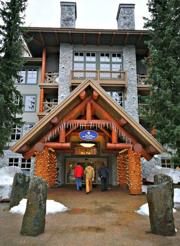 Best Slopeside Resorts Whistler blackcomb suites
