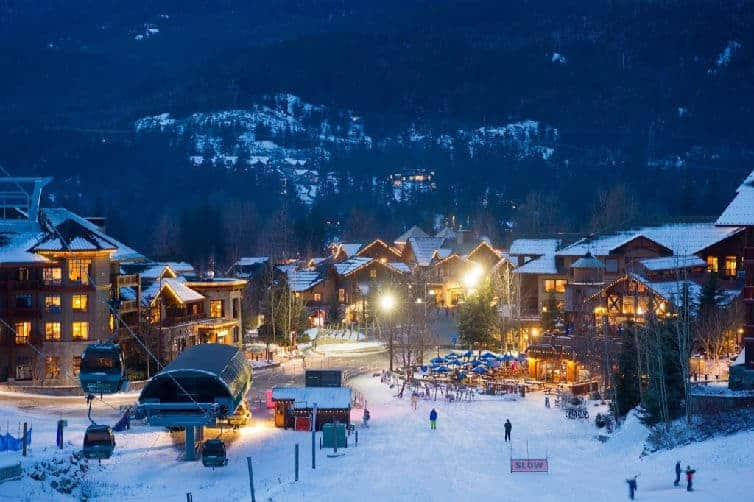 The original base for Canada's biggest ski resort, Whistler Creekside has great restaurants, lodgings, shops and slope access to suit every kind of skier.