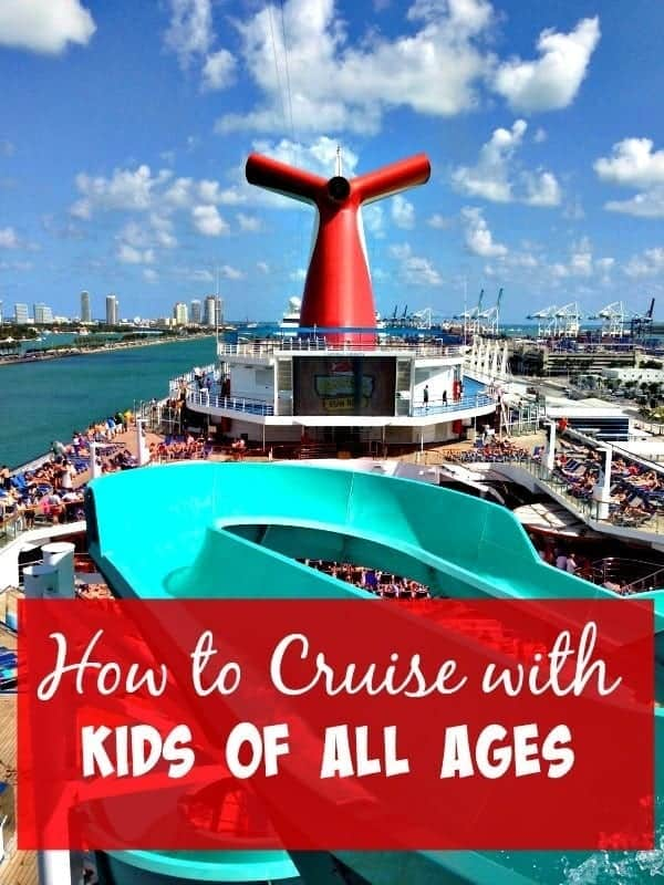 Cruising is a great way to travel with the family. These savvy travel tips on how to cruise with kids of all ages will keep everyone happy on the high seas. | thetravellingmom.ca