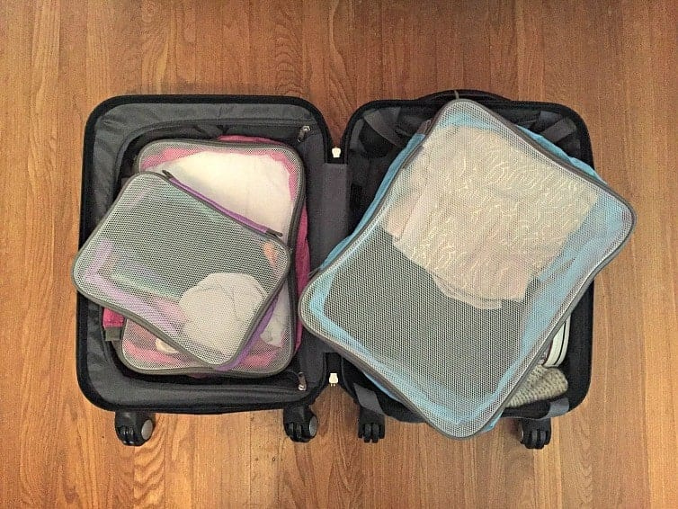No matter your travel style, it's important to pack smart for your vacation. These packing cubes and accessories show how to pack a suitcase with ease. | thetravellingmom.ca