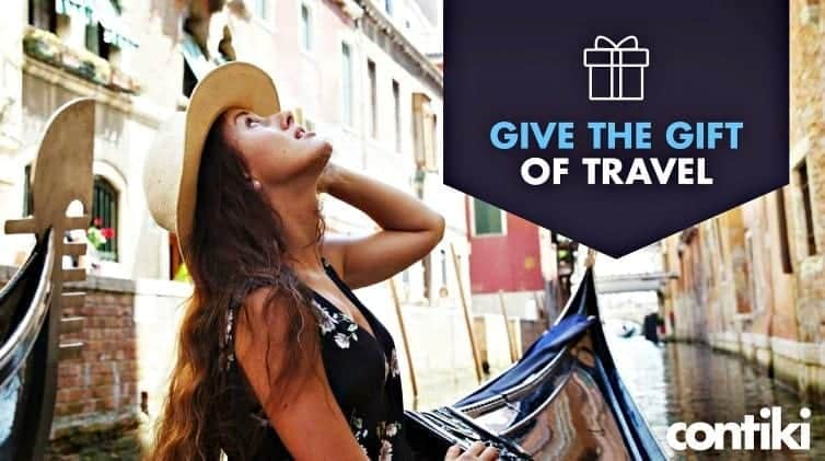 Help new graduates collect memories not things. Six reasons to give the gift of travel to graduates with the Contiki Tours gifter campaign.