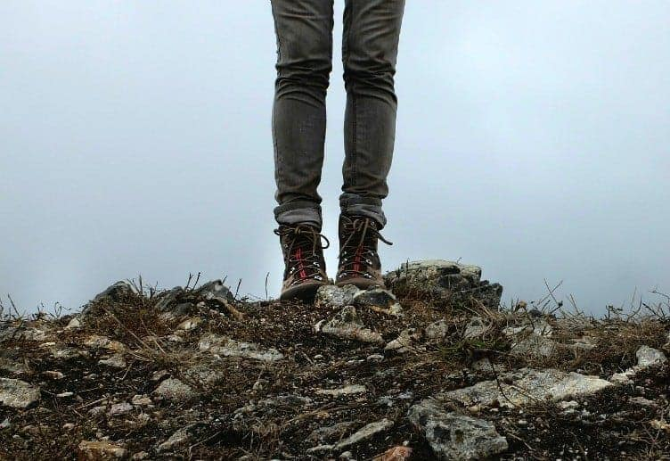 These boots were meant for hiking and wellness adventure at Mountain Trek in British Columbia