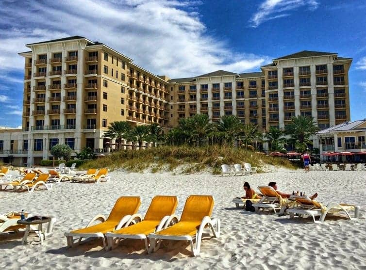 Gulf Coast luxury and family-friendly amenities abound at the Sandpearl Resort, Clearwater Beach, Florida