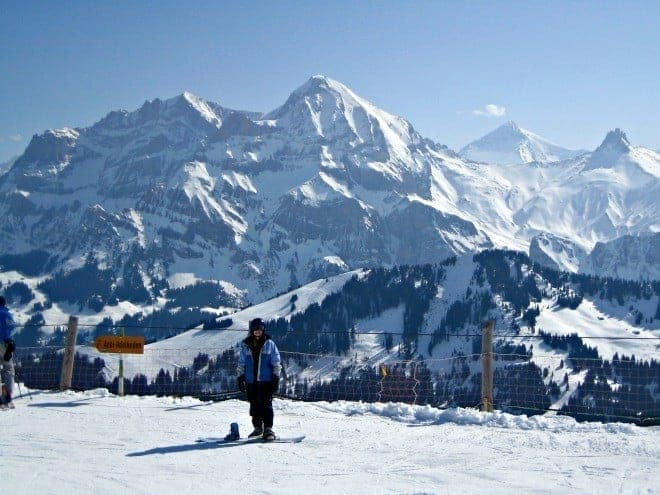The charming alpine village of Adelboden is the perfect place to take the kids and family skiing in Switzerland. Tips for a skitastic winter holiday. (via thetravellingmom.ca)
