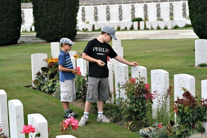 ypres with kids
