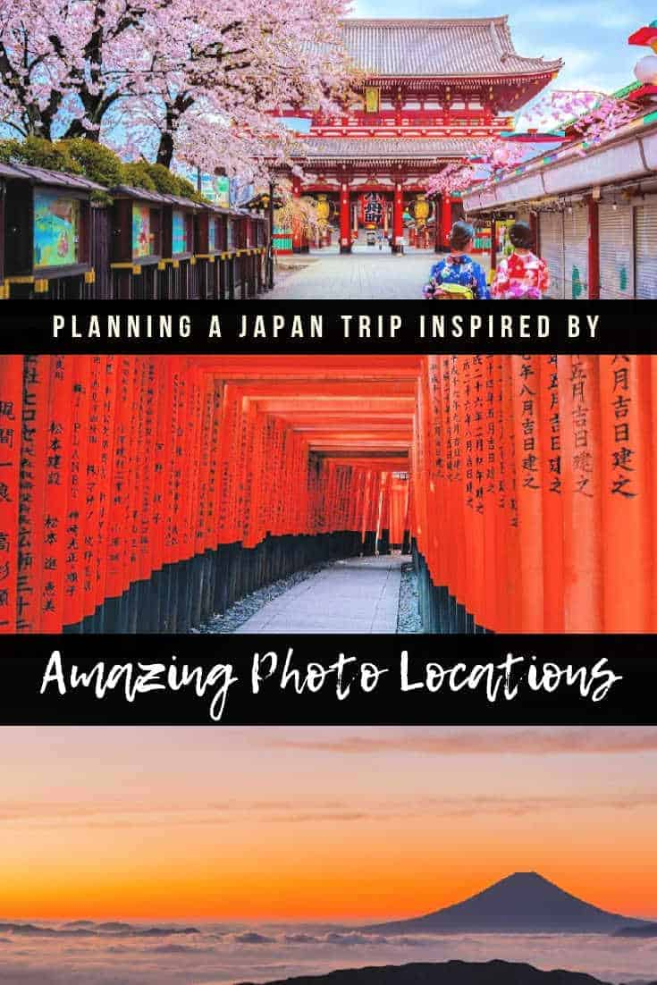 Planning a Japan Trip Inspired By Awesome Photo Locations. How to use tech and photos for planning your next bucket list adventure. #Trover #TroveOn #TripPlanning #TravelGuide #Photography #TravelPhotos