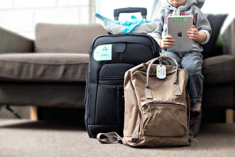 Keep your precious family travel bags from being lost in the crowd. Stick it to lost luggage with a new handy, dandy Mabel's Labels Travel Pack.