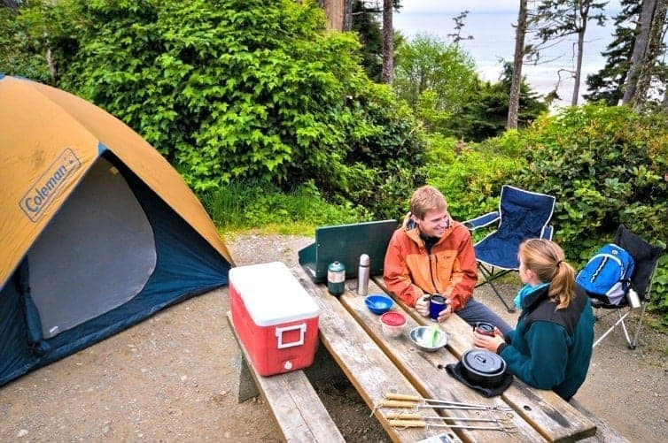 Canada is the place to visit in 2017, and entrance to all National Parks is free. These five campgrounds are the perfect place to enjoy camping in Canada.