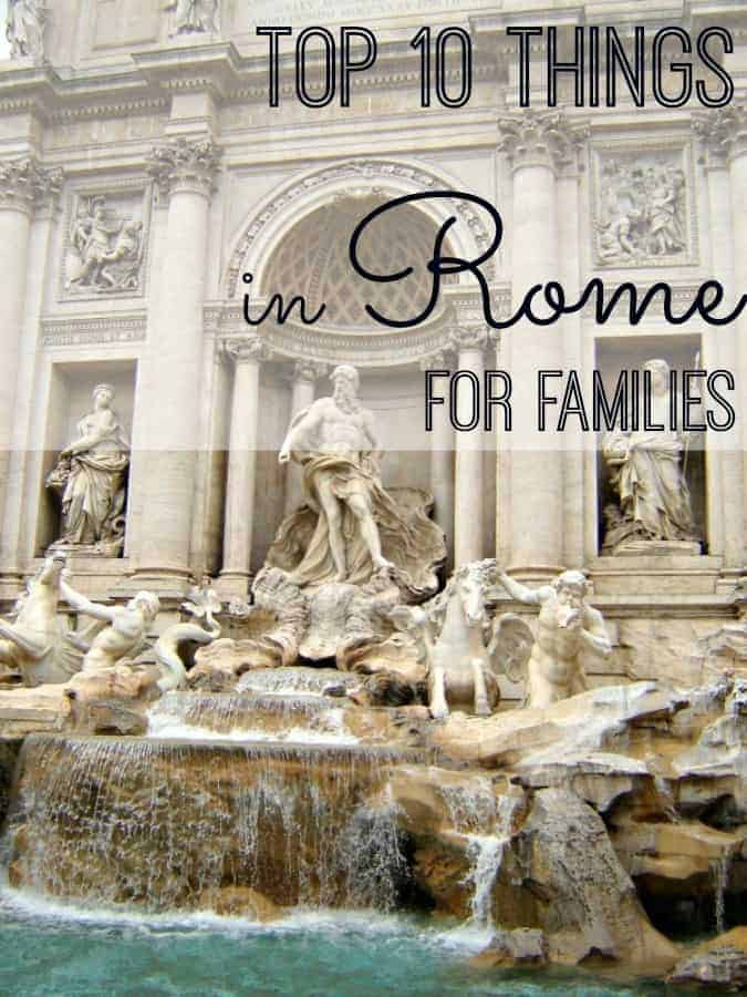 Rome is a family travel dream destination with history, food and culture. Live la dolce vita with these top 10 things to do in Rome with kids and families. (via thetravellingmom.ca)