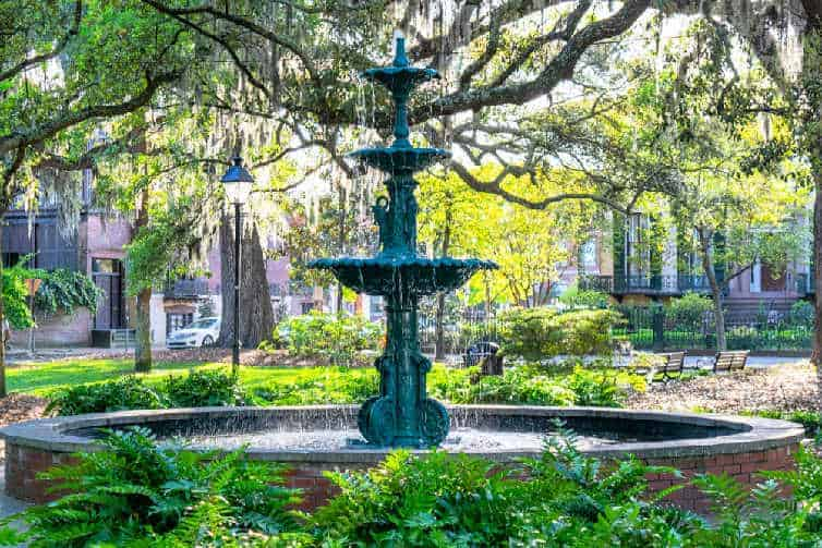 Enjoy a trip to Savannah, Georgia before your baby comes