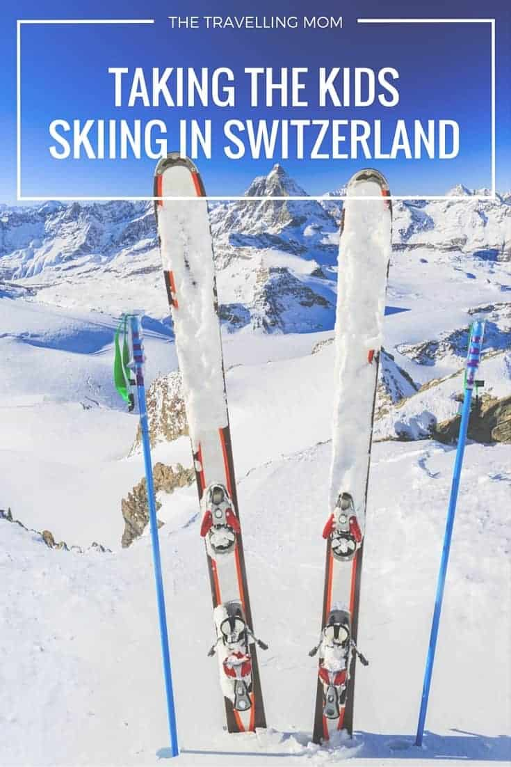 Dreaming of carving your way down the Swiss Alps with the family? Tips on how to take your kids skiing in Switzerland. | thetravellingmom.ca