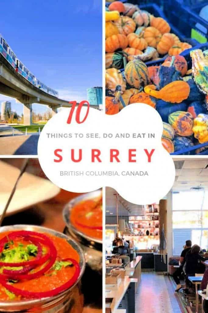 images of food and attractions in surrey bc