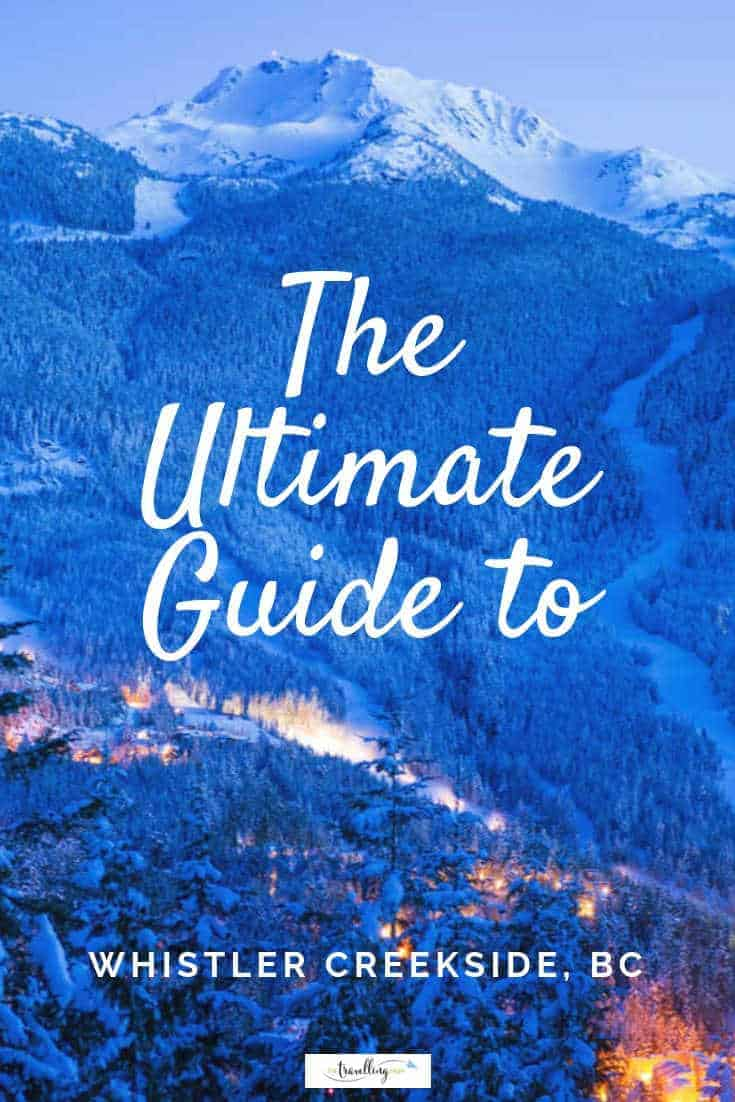 guide to whistler creekside mountain