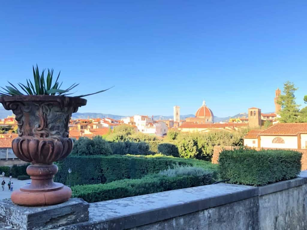 where to eat in florence boboli gardens