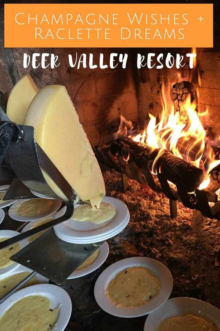 Elevate your winter ski getaway experience with champagne wishes and raclette dreams at Utah's luxury Deer Valley Resort in Park City.   winter travel