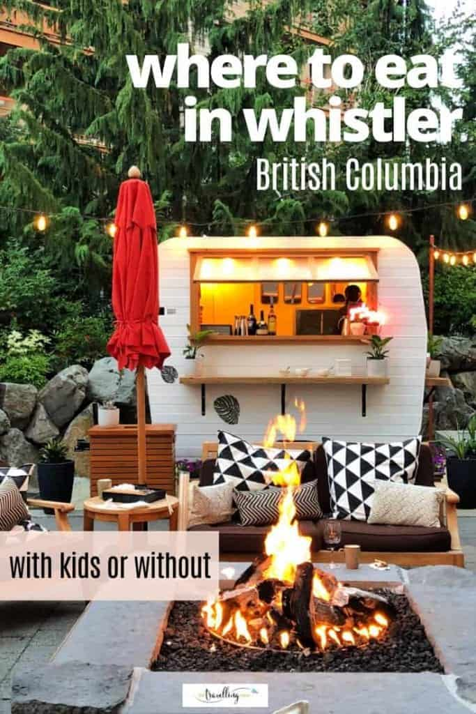 where to eat in whistler with kids