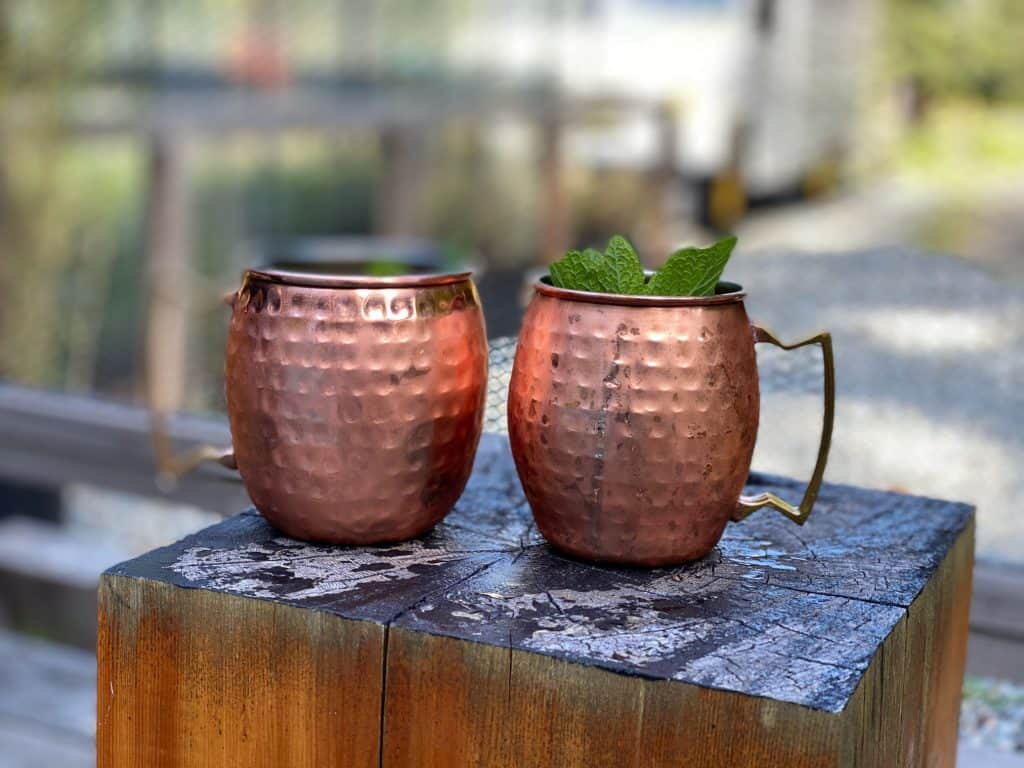 moscow mules from woods on pender